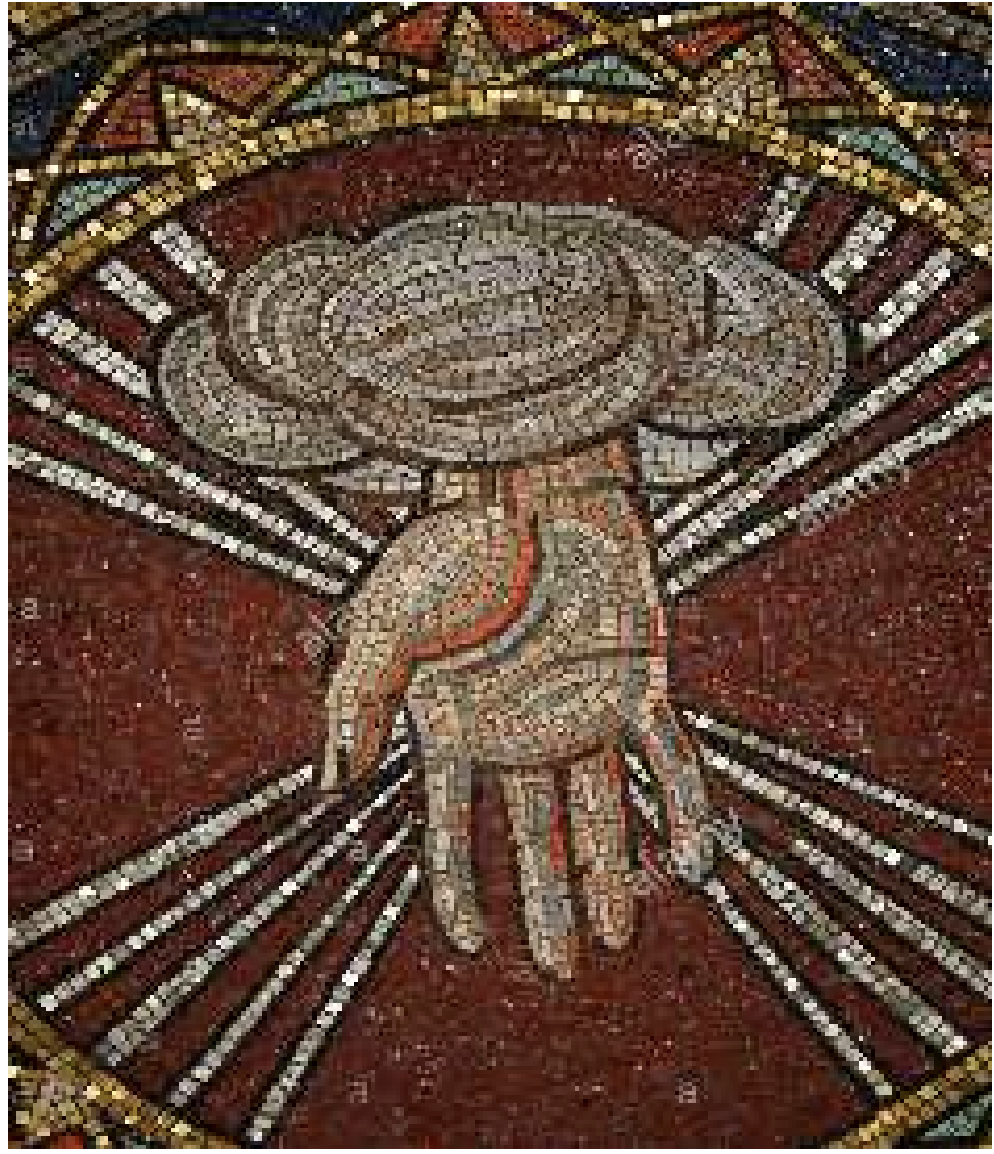 God The Creator mosaic by Hildreth Meiere in St Bartholemew's, New York City