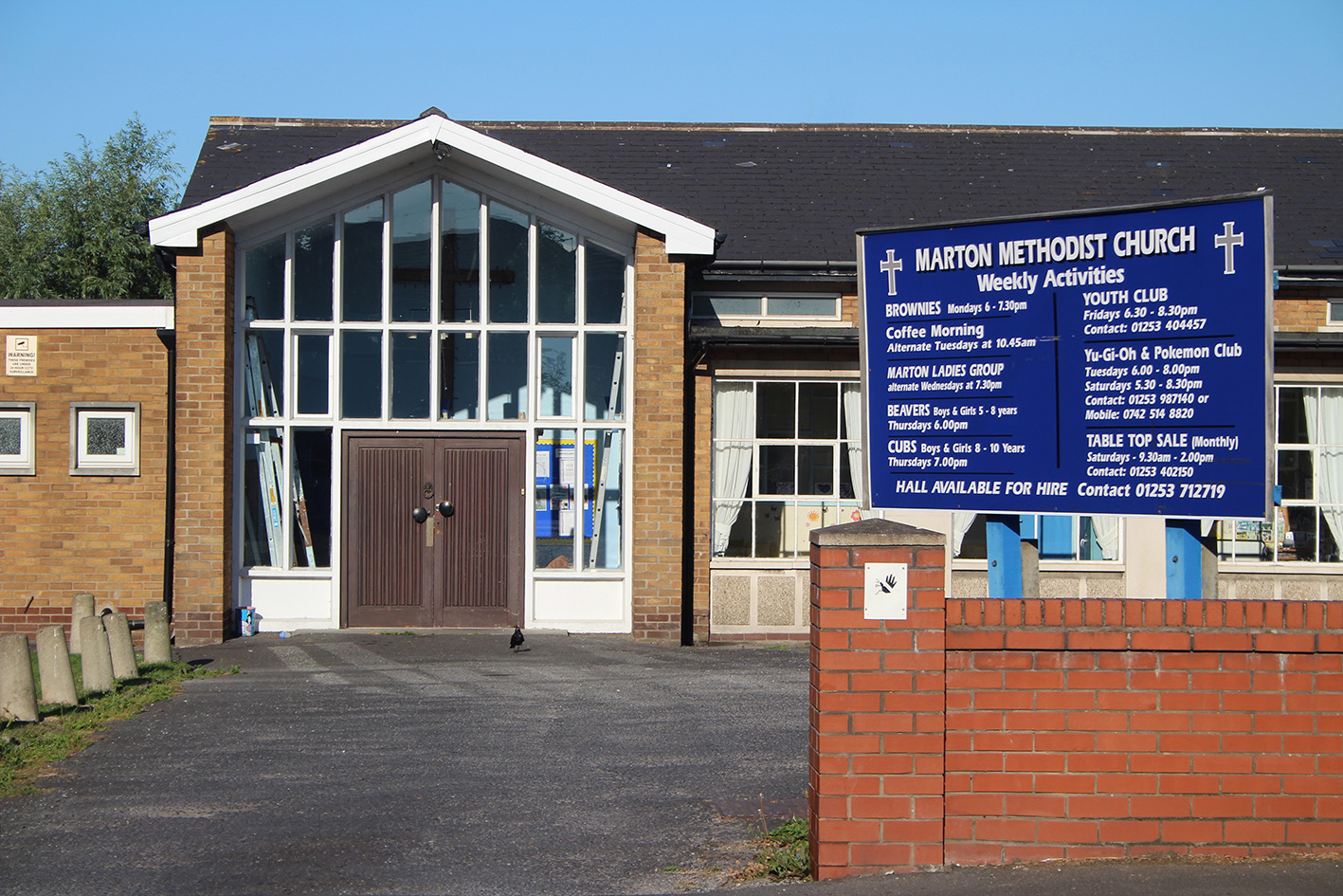 Photograph of Marton Methodist Church